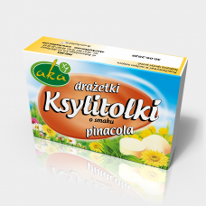 Xylitol candy pinacola flavor 40g sugar-free
