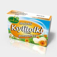 Xylitol candy orange flavor 40g sugar-free