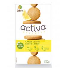 Activa Ciastka z cytryną bez dodatku cukru 120g
