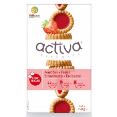 Activa Cookies with strawberries without added sugar 150g