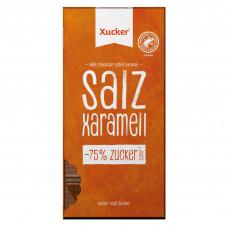 Czekolada mleczna z ksylitolem, solą i karmelem Xucker 80g