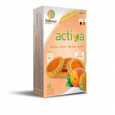 Activa Ciastka z galaretką morelową bez dodatku cukru 150g