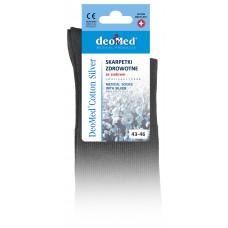 DeoMed® Cotton Silver pressure-free, health, antibacterial, antifungal and anti-odor socks