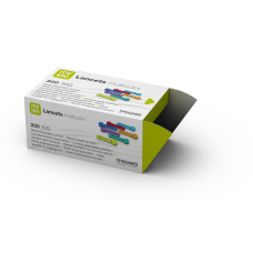 Kolorowe lancety uniwersalne Mylife (30G) - 200 sztuk