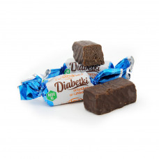 Diabetki chocolate covered peanut candy 150g