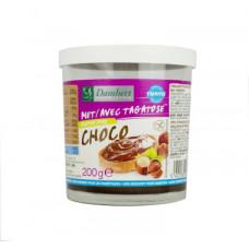 Chocolate-hazelnut cream sweetened with tagatose gluten-free 200g